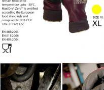 31636fa8516 ATG - MaxiDry® Zero werkhandschoenen - Comfortabel / waterafstotend tot min  10°C - Maat 10