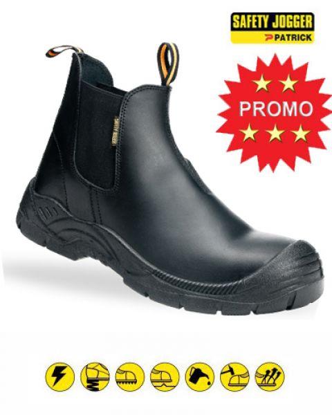 Safety Jogger Bestfit - S1P werkschoenen zonder veters