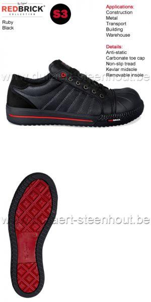 Redbrick Safety sneaker werkschoenen / veiligheidsschoenen Ruby S3