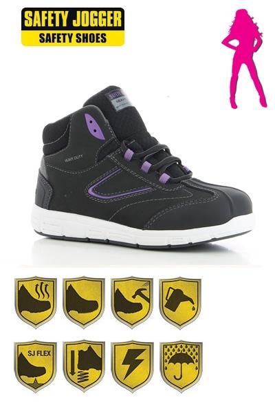 Stevige Werkschoenen.Werkkleren Safety Jogger Beyonce S3 Stevige Veiligheidsschoenen