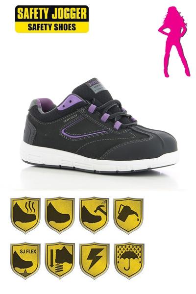 8c7acbcacce Safety Jogger - Rihanna S3 stevige veiligheidsschoenen / werkschoenen voor  vrouwen