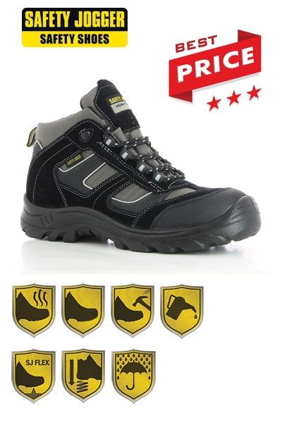 Hoge Werkschoenen Met Stalen Neus.Werkkleren Safety Jogger Werkschoenen Climber S3 Met Stalen Neus