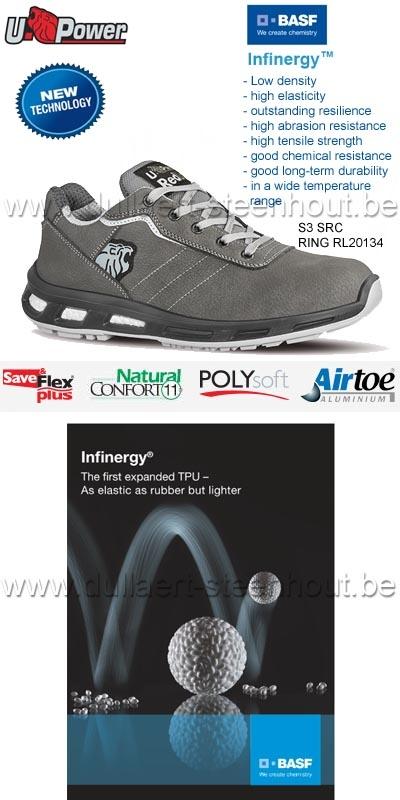 Werkschoenen Veiligheidsschoenen.Werkkleren U Power S3 Src Werkschoenen Veiligheidsschoenen