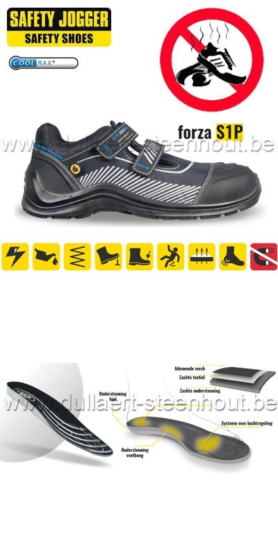 Werkschoenen Safety Jogger.Werkkleren Safety Jogger Forza S1p Veiligheidsschoenen