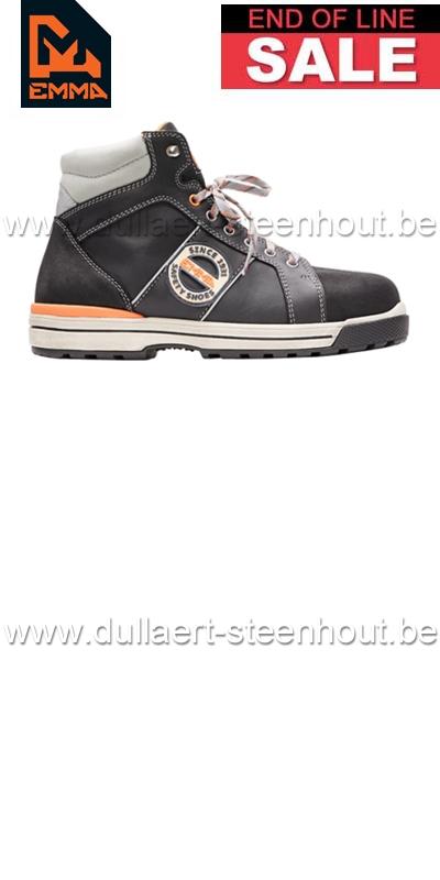 Werkschoenen Emma.Werkkleren Emma Werkschoenen Veiligheidsschoenen Ruffneck S3 Zwart
