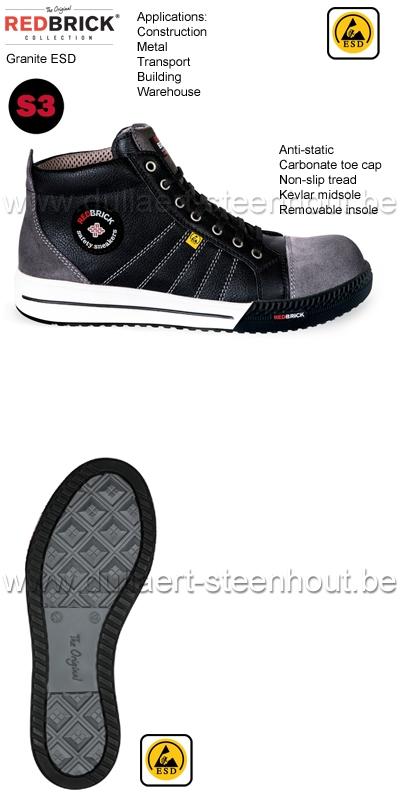 Redbrick Werkschoenen.Werkkleren Redbrick S3 Sneaker Werkschoenen Werksneaker