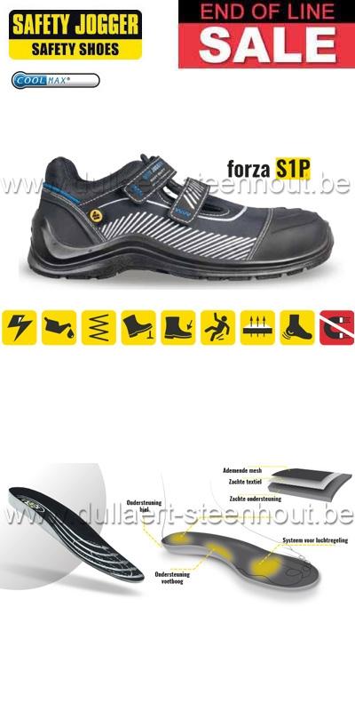 Werkschoenen Veiligheidsschoenen.Werkkleren End Of Line Werkschoenen Veiligheidsschoenen Forza S1p
