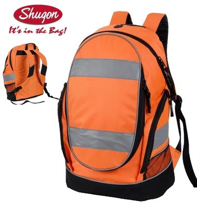 c89bca3ca69 Werkkleren   Shugon fluo oranje rugzak voor een zeer hoge zichtbaarheid