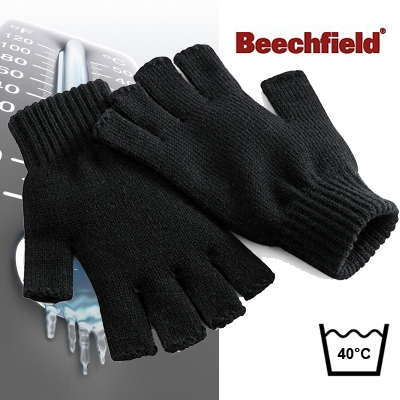 werkkleren | beechfield - handschoenen zonder vingers
