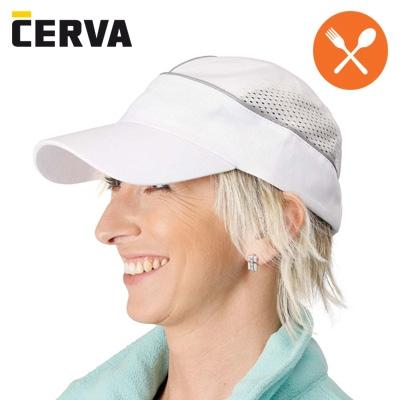 Werkkleren cerva witte werkpet geschikt voor de keuken uit 90 katoen 10 polyester - Tweekleurige keuken ...